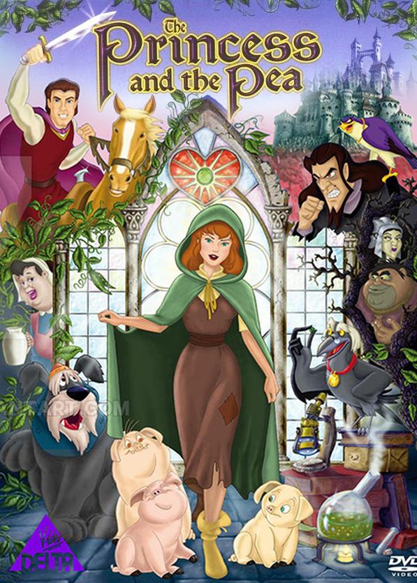 Η πριγκίπισσα και το μπιζέλι (The princess and the pea)